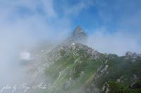 雲の間から槍ヶ岳 - Ryu Aida's Photo