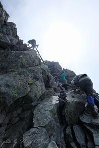 槍ヶ岳山頂へ - Ryu Aida's Photo