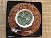 エジプトのスープ「ムルキーヤ」ゴーヤ編!  2019.8 - Hawaiian LomiLomi サロン  華(レフア)邸