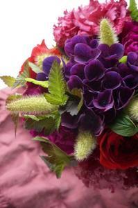 芦屋アイロニーのお花でパリスタイル - お花に囲まれて