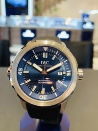IWC アクアタイマー オートマティック ''エクスペディション・ジャック=イヴ・クストー'' - 熊本 時計の大橋 オフィシャルブログ