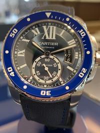 カルティエ カリブル ドゥ カルティエ ダイバー ブルー - 熊本 時計の大橋 オフィシャルブログ