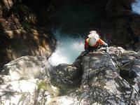 猛暑もどこへやら!冷たく涼しい飛騨の沢…九蔵本谷 - 山にでかける日