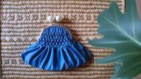 〇スモッキング がま口 完成。 - kotsu-kotsu handmade