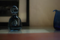 ペーパーウェイトとミルクピッチャー - glass-K.Komaki