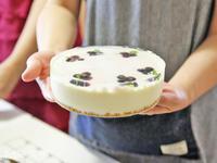 ブルーベリーのマーブルレアチーズケーキ - 美味しい贈り物