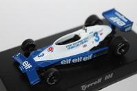1/64 Kyosho Tyrrell F1 008 【1978】 - 1/87 SCHUCO & 1/64 KYOSHO ミニカーコレクション byまさーる