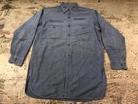 Chambray Shirt at U.S.Navy&Wrok!!(マグネッツ大阪アメ村店) - magnets vintage clothing コダワリがある大人の為に。