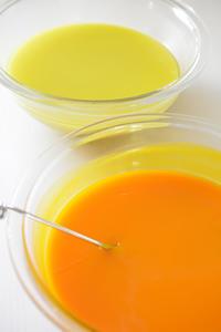 オレンジ色の石けんが出来る手作り石鹸オイルミックス - tecoloてころのブログ