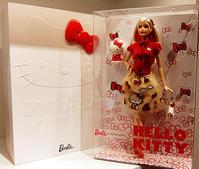 """キティちゃんファッションのバービー人形 """"Barbie Hello Kitty Doll"""" - ニューヨークの遊び方"""