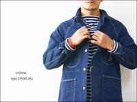 orslow [オアスロウ] 1950 COVER ALL カバーオール [03-6140-81] ライトオンスなデニムジャケットストア系ビンテージ好き必見MEN'S - refalt blog