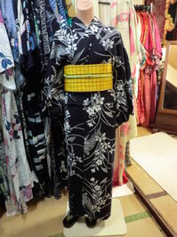 レトロな半幅帯を、幅出し調整しました。 - 京都嵐山 着物レンタル「遊月]・・・徒然日記