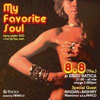 8月8日木曜日はMy Favorite Soul!! - Jazz Maffia BLOG