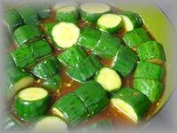 胡瓜のからし醤油漬け - ほのぼのはうす