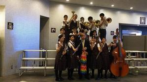 都大会に進みます! - 小平第六中学校吹奏楽部 We Love Brass!!
