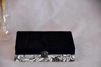 無印良品のアクセサリートレーが収納できるボックス試作vol.2 - atelier bleuet ~アトリエ・ブルーエ~