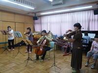 (^_-)-☆アンサンブルチャティさんの演奏♡楽しかったね♡ - ♪楽しいリズム運動療法♪ ~音楽療法の現場から~
