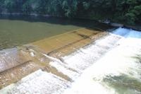 干上がる赤川上流の赤川頭首工は水を飲み干し我田引水 - 「 ボ ♪ ボ ♪ 僕らは釣れない中年団 ♪ 」Ver.1