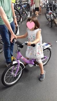娘の自転車デビュー☆ - ドイツより、素敵なものに囲まれて②