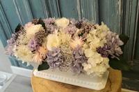 お供えの花プリザーブドフラワーで - 北赤羽花屋ソレイユの日々の花