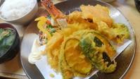 ボリュームたっぷり天ぷら定食 - おでかけメモランダム☆鹿児島