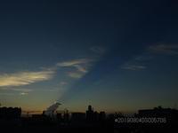 夕暮れ時に空に橋が、、、。 - 写真で楽しんでます! スマホ画像!
