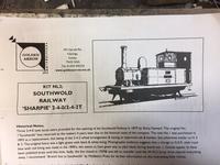 "Southwold Railway ""Sharpie"" 1 - バイオ・鉄道模型・酒・80年代の旅 etc..."