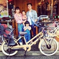 ☆ブリヂストン特集☆bikke STEPCRUZe トートボックス『バイシクルファミリー』グリ モブ Yepp GRI MOB EZ BP02 ステップクルーズ 電動自転車 おしゃれ自転車 - サイクルショップ『リピト・イシュタール』 スタッフのあれこれそれ