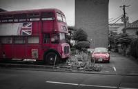 赤が英国を主張する一角 - Film&Gasoline
