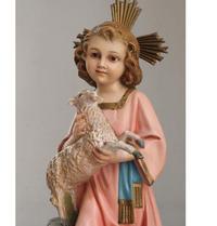 子羊を抱く幼子イエス像  /G499 - Glicinia 古道具店