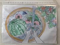 母の塗り絵 入院 - 浦安フォト日記