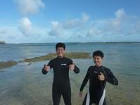 一日の〆は素敵でした~大度海岸(ジョン万ビーチ)シュノーケリング~ - 沖縄本島最南端・糸満の水中世界をご案内!「海の遊び処 なかゆくい」