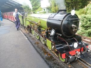 ロムニー鉄道 (Romney Hythe and Dymchurch Railway) -