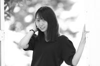 白井花奈ちゃん25 - モノクロポートレート写真館