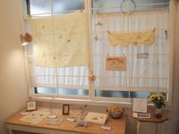 あおきゆみこ・カミチサト交換刺繍展『ひかりのかわ』終了 &第8回Tumugi skole 刺繍ワークショップ開催しました。 - Tumugi