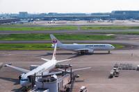 HND - 566 - fun time (飛行機と空)