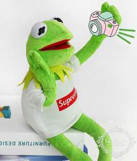 シュプリームSUPREMEカーミットカエルぬいぐるみ通販スタート!海外輸入ファッション小物! - COZAKA