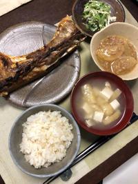 マグロのカマ焼き - 庶民のショボい食卓