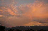 夕焼け空に虹が! - きょうから あしたへ その2