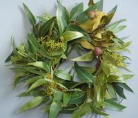 変わり種ユーカリのリース&スワッグ - お花に囲まれて