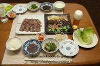おじさんのお誕生日のおうち焼き肉屋さん(o^^o) - おばちゃんとこのフーフー(夫婦)ごはん