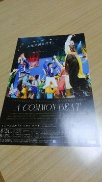 公演まであと16日ミュージカル「アコモンビート」を見に行くことが決定しました(^^♪ - 占い師 鈴木あろはのブログ