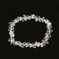 水晶ハートカットブレスレット - すぐる石放題
