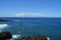 今日も青かった - 三宅島風景