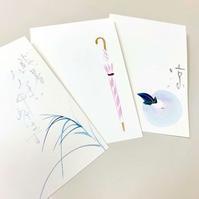 一花さんの手描き和紙こもの - 届けられたもの