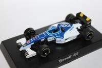 1/64 Kyosho Tyrrell F1 023 【1995】 - 1/87 SCHUCO & 1/64 KYOSHO ミニカーコレクション byまさーる