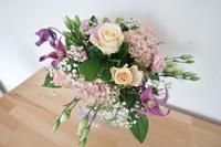 結婚7周年記念日の花束と息子の成長☆ - ドイツより、素敵なものに囲まれて②