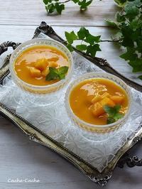 マンゴー杏仁豆腐 - Cache-Cache+