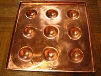 銅板タコ焼き器 - 金属造形工房のお仕事