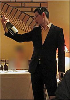 フィオッキ「ソムリエ退職ご挨拶の日」 - AQB59 レストランをめぐるグルメのめくるめくメルクマール (早口言葉)